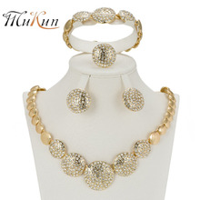 necklace beads Gold earring