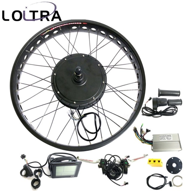 US $328 9 45% OFF|170mm 190mm Rear brushless Non Gear hub motor wheel 26