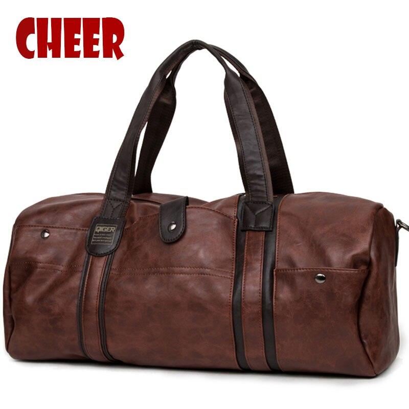 Men's Bags for Totes Vintage Designer Messenger bag crossbody bag men shoulder large-capacity Oil wax High Quality Travel Bags