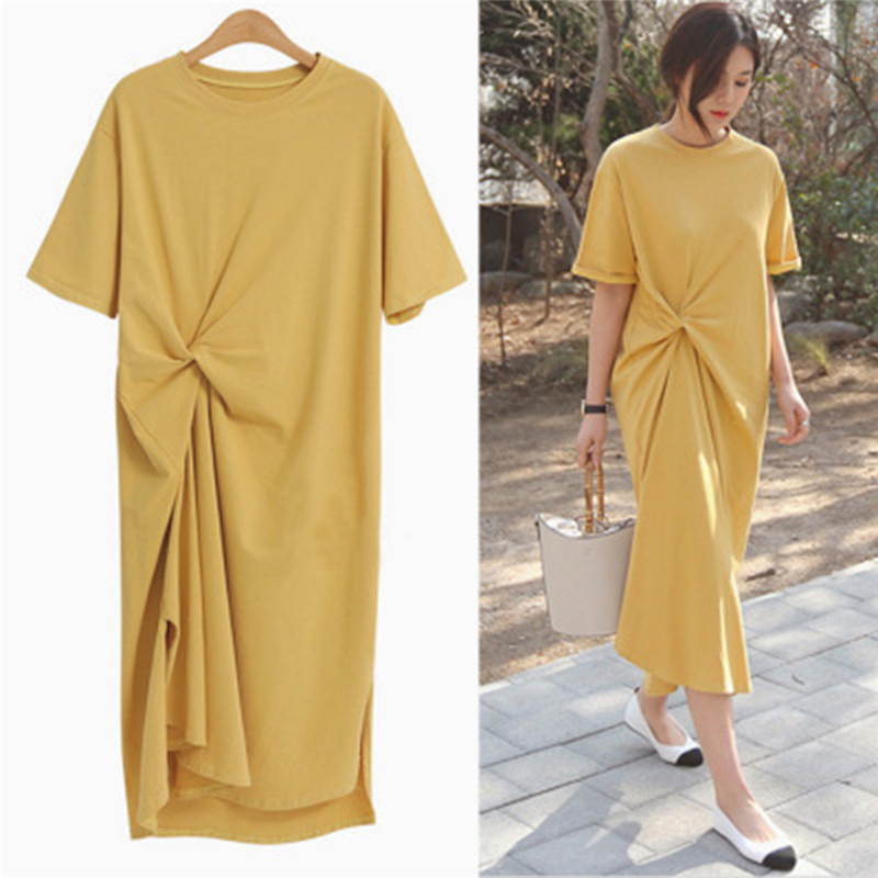 Cuerly Maxi Shirt Dress Women Summer Beach Sexy Elegant Casual Vintage Cotton Boho Party Vestidos Mujer Femme Clothes Plus Size in Dresses from Women 39 s Clothing