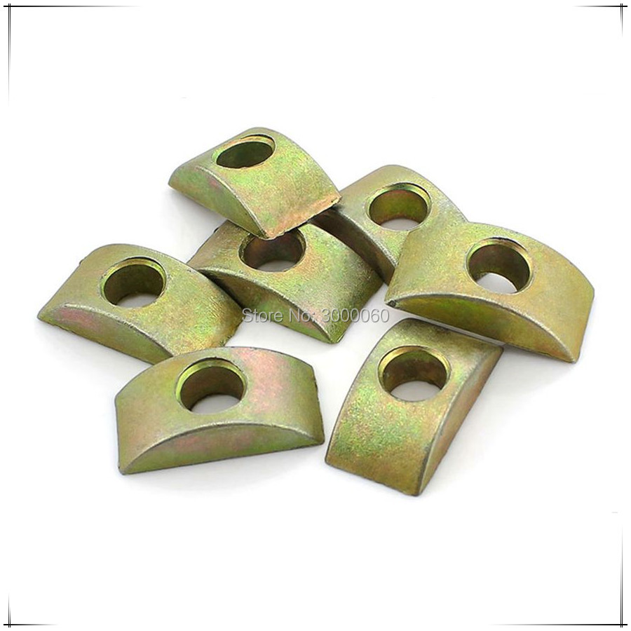 Bag Parts & Accessories Hch-furniture Connector Half Moon Nuts Spacer Washer Bronze Tone 20pcs