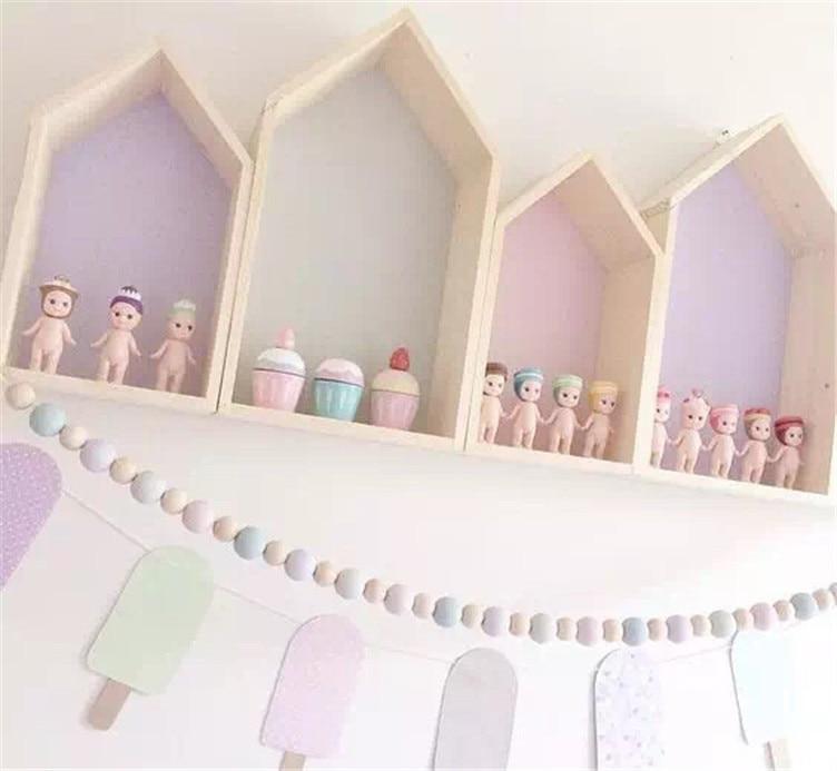 Doppel schicht kinderzimmer dekoration nette custom holz haus cut ...