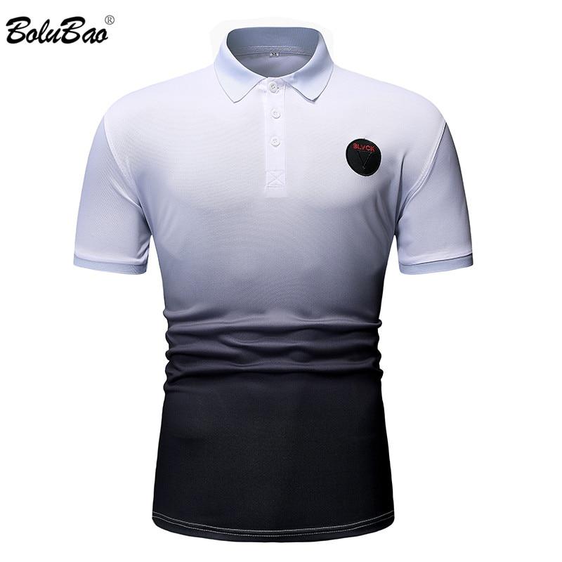 BOLUBAO Fashion Brand Men's   Polo   Shirt 2019 Summer Solid Color Casual Male   Polo   Shirt Men Short Sleeve   Polo   Shirt Top