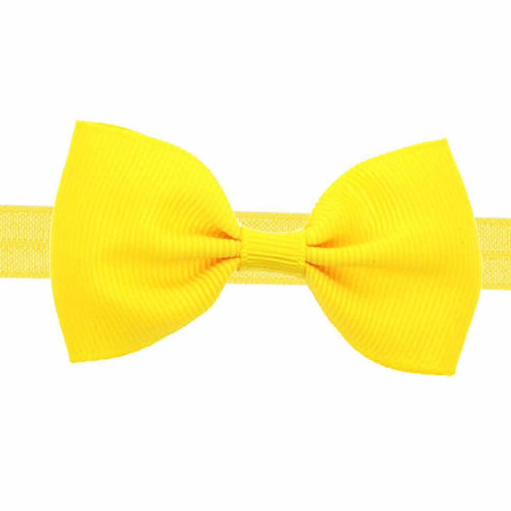 MUQGEW детская одежда для девочек мини-платье с бантом резинка эластичная повязка на голову для новорожденных ободки для девочек украшения для волос, свадебные украшения для Прямая поставка 2019 Новый