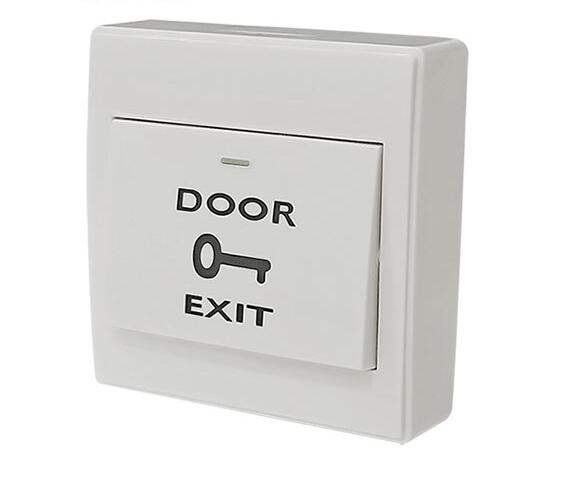 Mounted Exit Button With Bottom Box For RFID Reader Card Open Door Access Switch Suitable For All Kinds Of Electric Lock