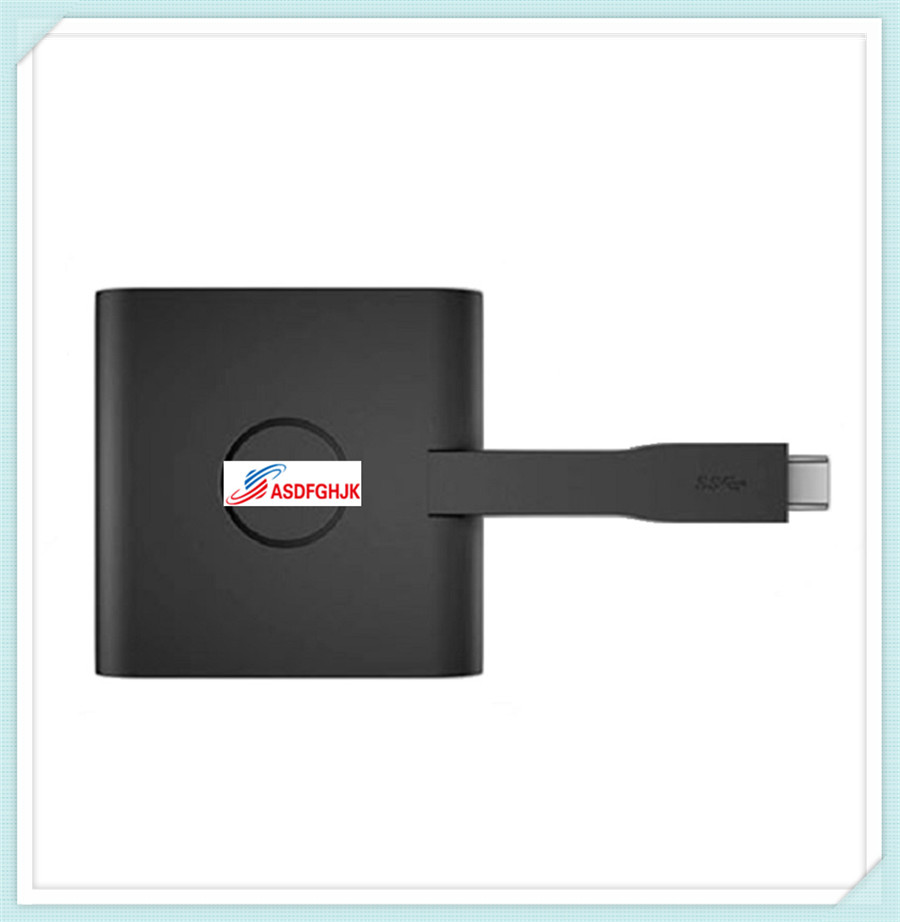 все цены на Original FOR Dell Adapter USB Type C to HDMI/VGA/Ethernet/USB 3.0 DA200 RNHDN fully tested онлайн