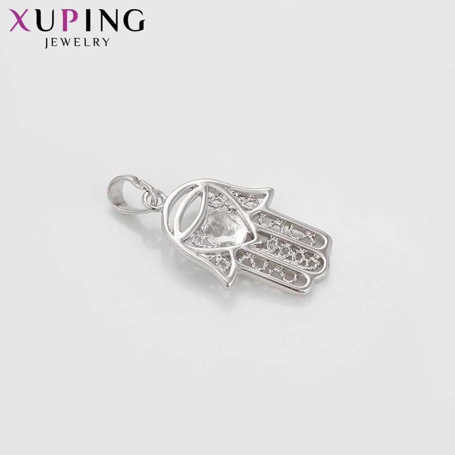 Xuping ファッションエレガントなパーティー気質ネックレスペンダント女性女の子高品質パーティージュエリークリスマスギフト S73 、 2-33226
