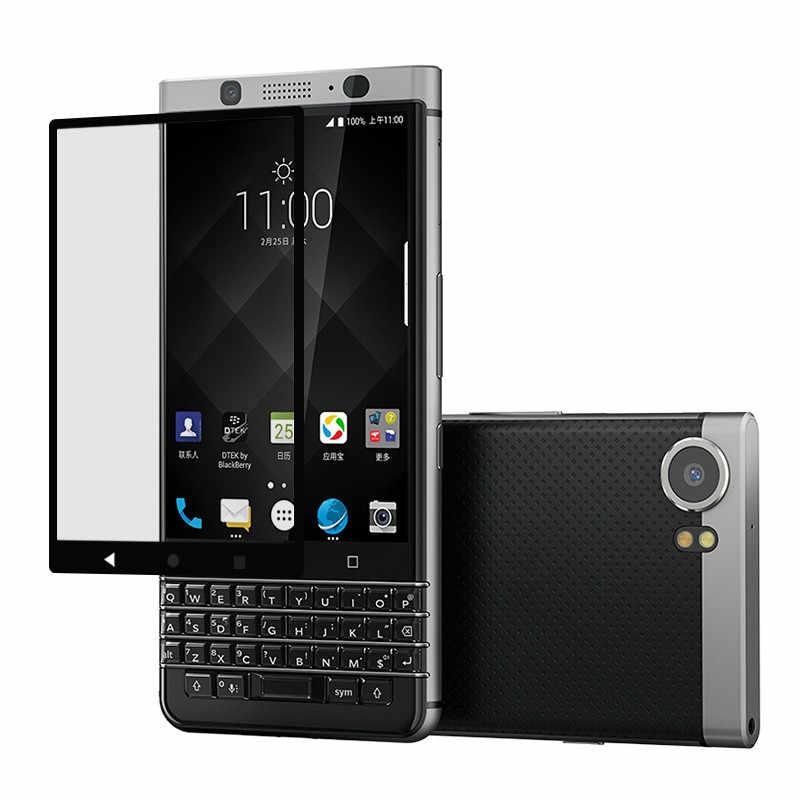 9 H 3D Kavisli Otomatik egzoz kabarcık Temperli Cam Anti-Patlama Ekran Koruyucu Için Blackberry keyone Yüksek Hassasiyet Touc