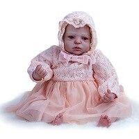 Высокое качество Моделирование Reborn Baby Doll мягкие виниловые возрождается куклы реалистичные и реалистичные для новорожденных девочек куклы