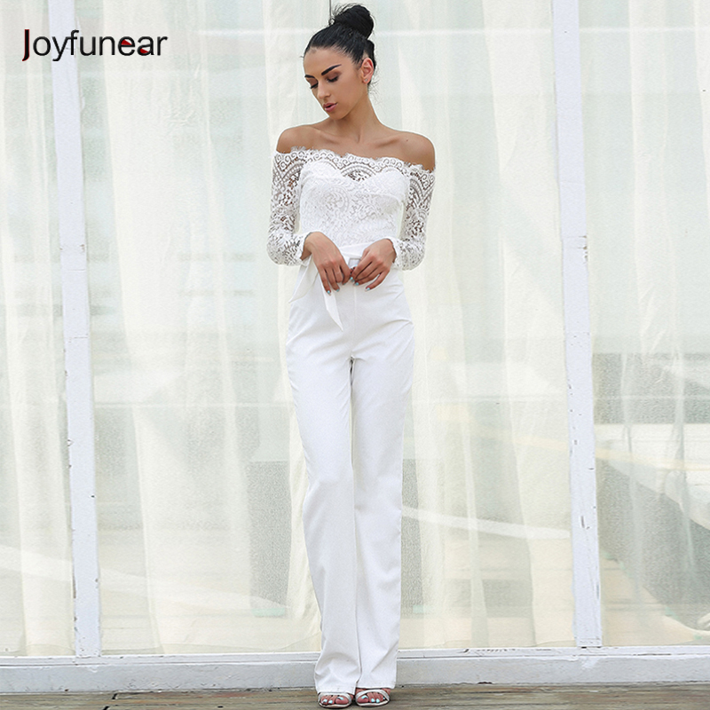 ff0e89b46f8 ... Summer Rompers Womens Jumpsuit Sexy Ladies Casual Elegant Off shoulder  Long Trousers Overalls Black Jumpsuit. 49% Off. 🔍 Previous