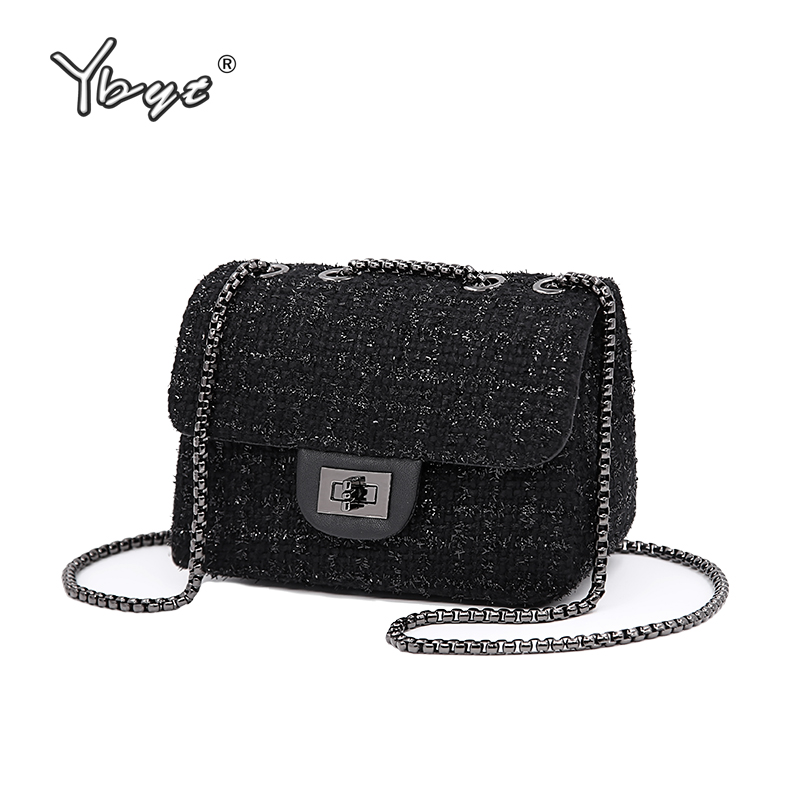 YBYT brand 2018 new fashion joker wool women's flap hotsale ladies winter evening bags small shoulder messenger crossbody bags ybyt brand 2018 new fashion casual handbags women flap luxury pu leather clutches ladies small shoulder messenger crossbody bags