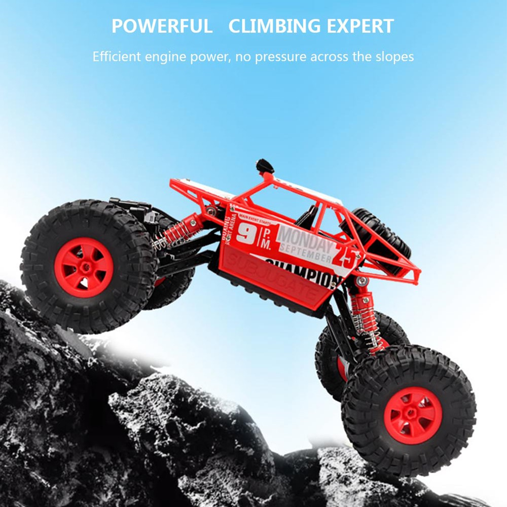 Image 3 - RC Car 2.4G 4CH Rock Crawlers Driving Car Drive Bigfoot Car Remote Control Car Model OffRoad Vehicle Toy wltoys drift-in RC Cars from Toys & Hobbies
