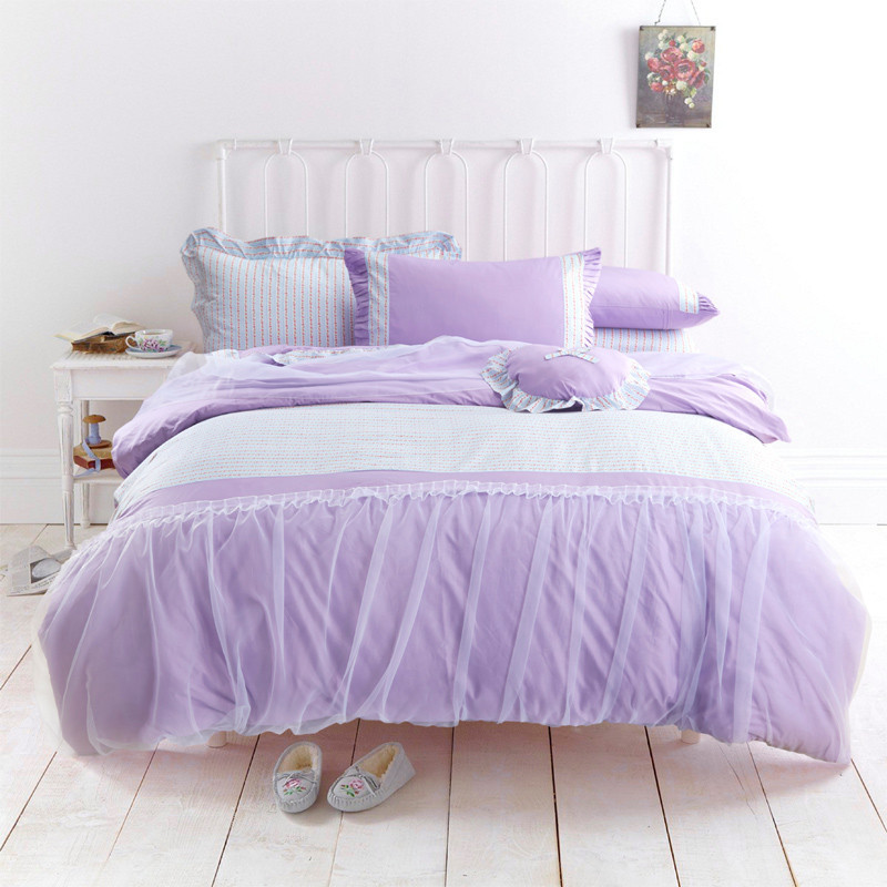 Online Buy Wholesale Lilac Print Comforter Sets From China