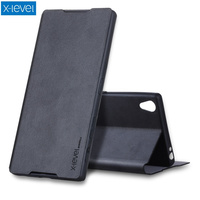 X LEVEL Slim Folio PU Leather Stand Case For Sony Xperia Z5 Premium Z5 Premium Dual