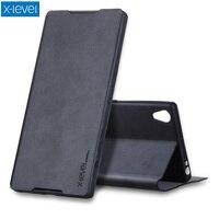 X LEVEL Slim Folio PU Leather Stand Case For Sony Xperia Z5 Premium Z5 Premium Dual
