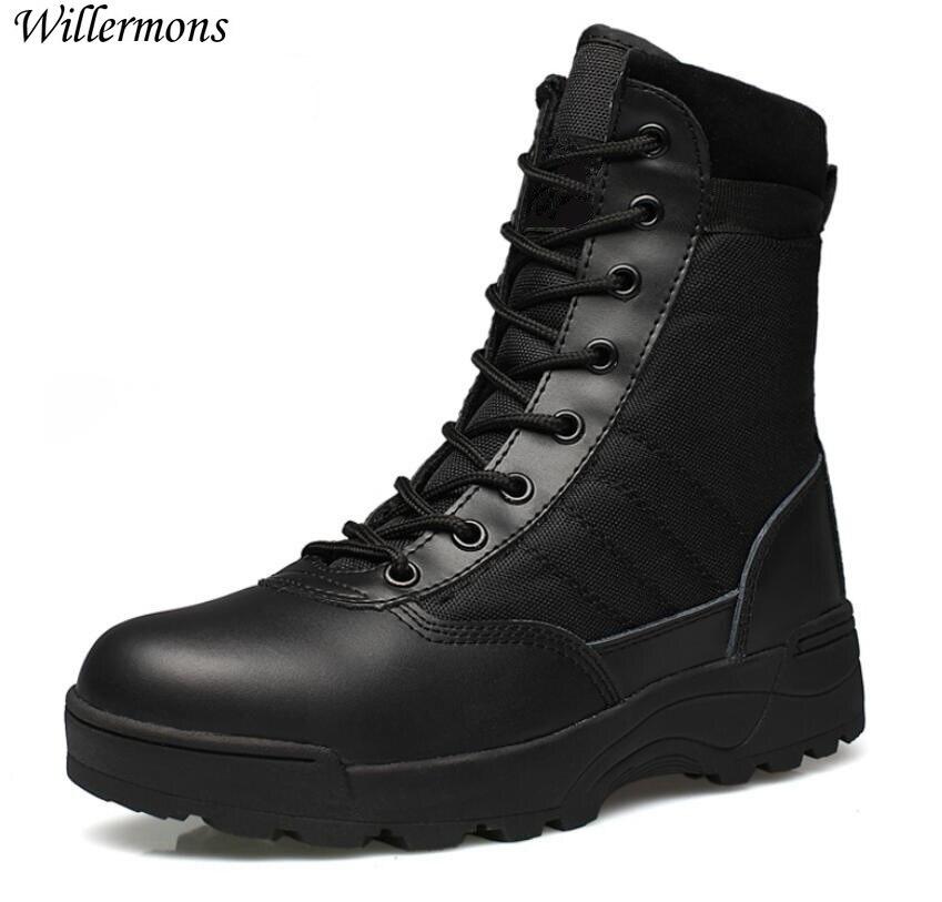 Außen Armee Stiefel männer Military Wüste Taktische Boot Schuhe Winter  Atmungs Kampf Stiefeletten Botas Tacticos Zapatos 6957378607