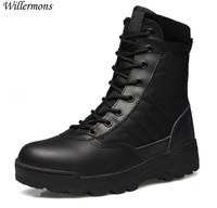 Outdoor Army Boots Men's Military Desert Tactical Boot Shoes Winter Breathable Combat Ankle Boots Botas Tacticos Zapatos