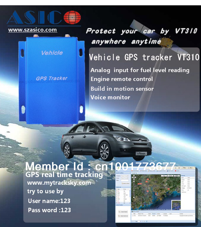 vehicle gps tracking software support with vt310 vt300 gt60 tk102 rh aliexpress com