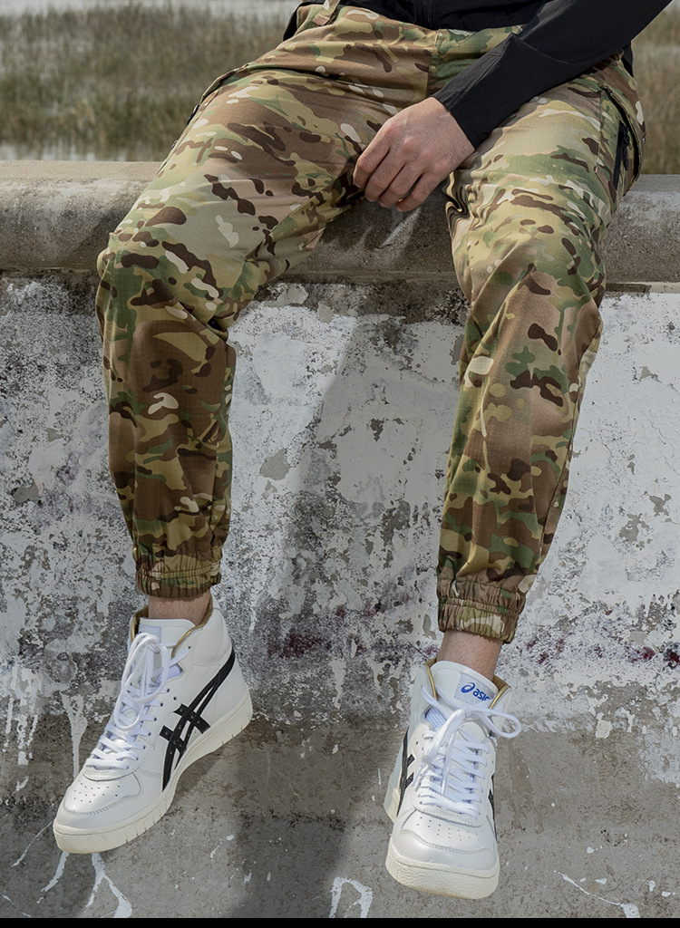 HTB1TQm3akxz61VjSZFrq6xeLFXaN - Pockets Cargo Pants Men Color Patchwork Casual Jogger Fashion Tactical Trousers Tide Harajuku Streetwear