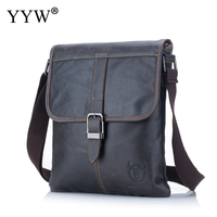BULLCAPTAIN Men's briefcase Bag Genuine Leather Man Crossbody Shoulder Bag Blue Brwon Business Bags Male Messenger Leather Bags