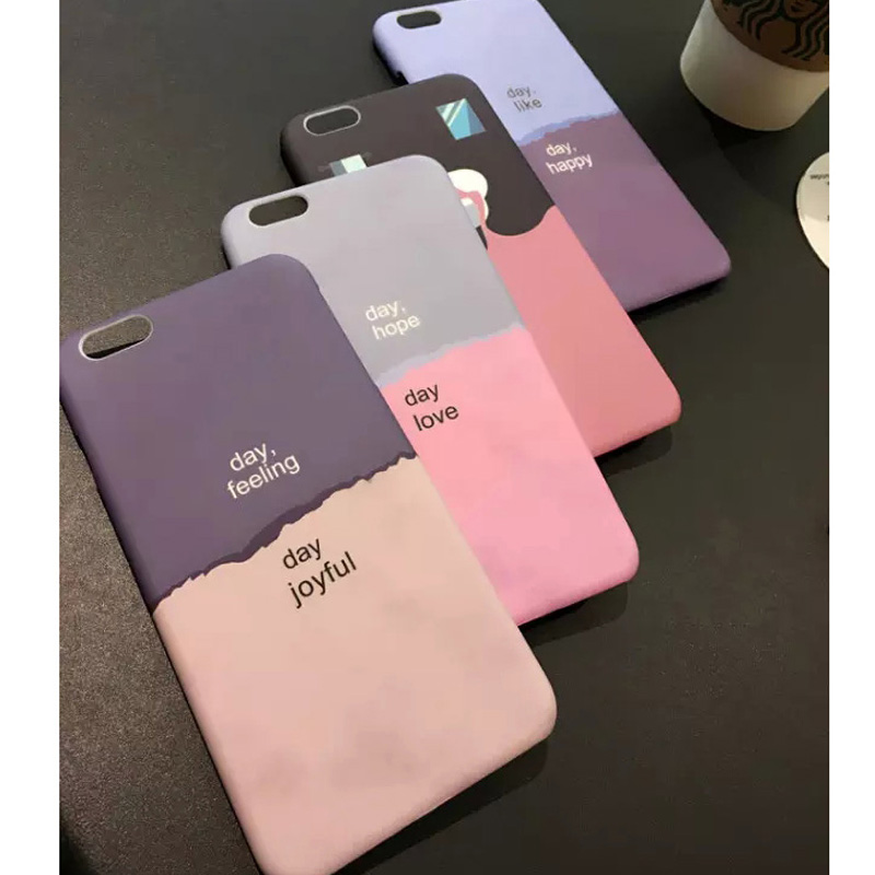 2015 new creative design color matching cover for iphone 6 for Creative iphone case ideas