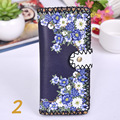 YILE Long Women Lady Purse PU Coin Bag Multi Card Holder Floral Flower 13 Colors 826-2