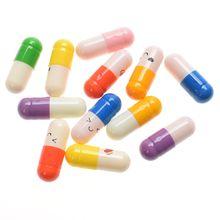 50 шт. мини-таблетки для любви в рулоне бумаги сообщение заметки в бутылке Капсула Письмо полное прозрачное Желание бутылка для вечерние подарки рождественские подарки