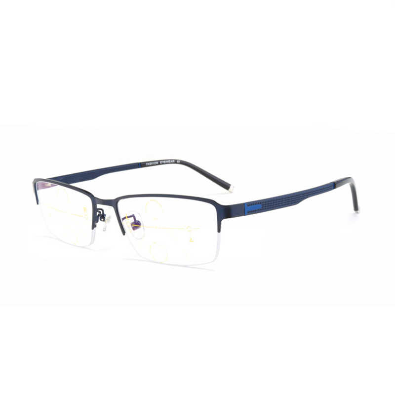 4250f88cae46 Fashion Anti blue rays Reading Glasses Men Women High Quality TR90 Material  Progressive Eyeglasses Prescription +