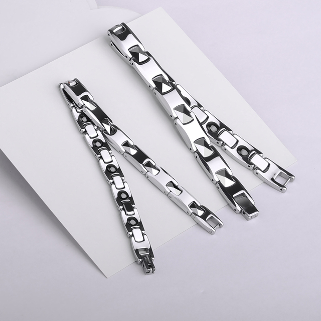 High Quality White Tungsten Bracelets