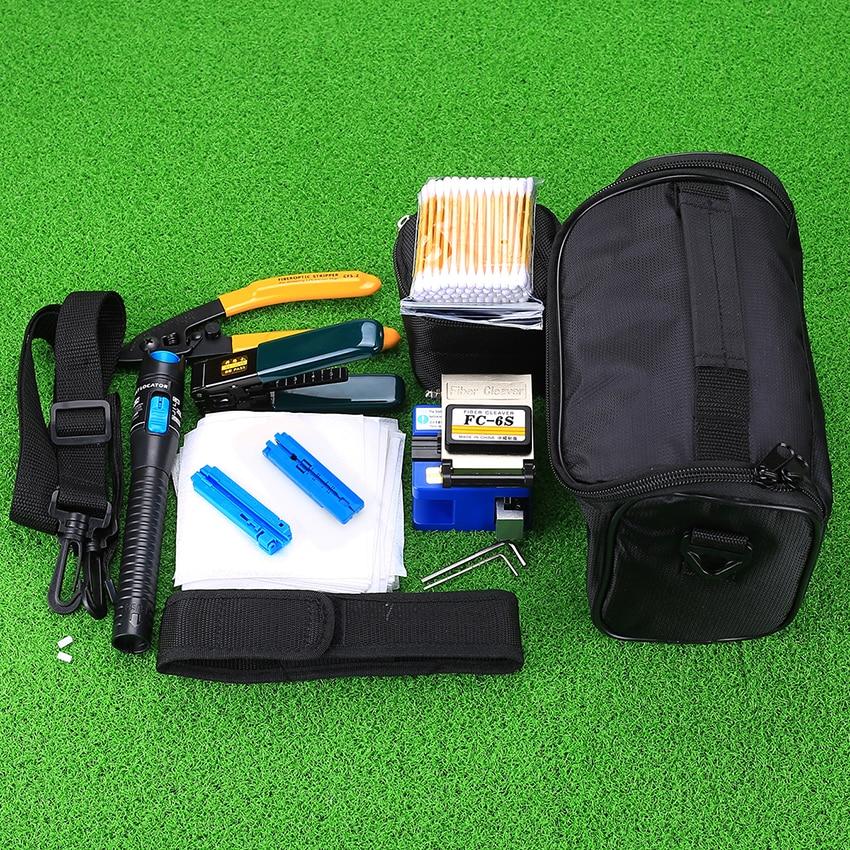 KELUSHI 2018 Nytt 13 st / set FTTH Fiber Optic Tool Kit med FC-6S - Kommunikationsutrustning - Foto 3