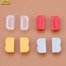 JCD 2 adet 13 renkler tozluk oyunu çocuk GB oyun konsolu kabuk toz fişi plastik düğme DMG 001