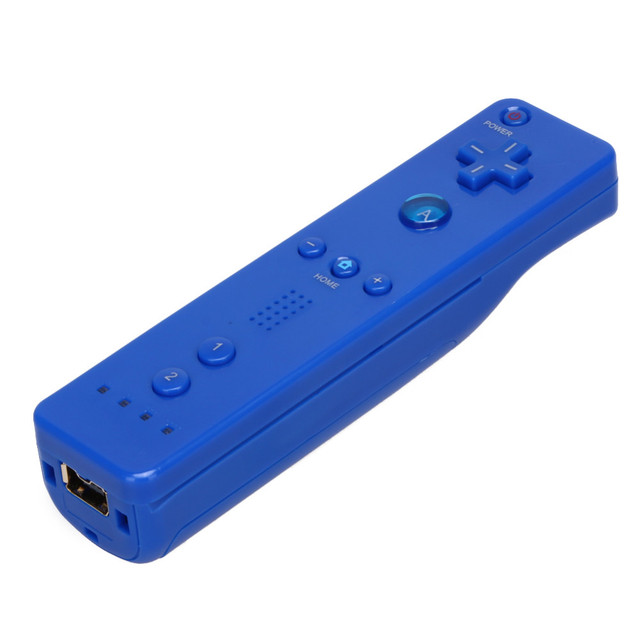 5 Colors 1pcs  Wireless Gamepad for Wii Remote Controller For Nintend Wii Game Remote Controller Joystick without Motion Plus