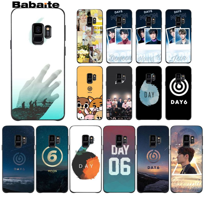 Babaite DAY6 Men's band DIY Printing Drawing Phone Case cover Shell For GALAXY s5 s6  edge plus s7 edge s8 plus s9 plus s10