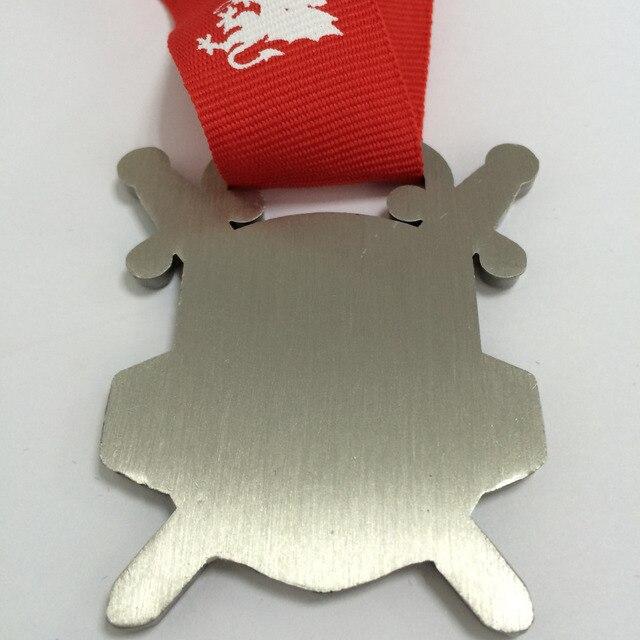 Médaille personnalisée en émail doux de 2 pouces de diamètre | Médaille de récompense/500 pièces, offre demballage