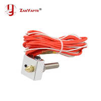 Hot End Kit MK7 MK8 0.4mm Nozzle Extruder Throat 12V 40W Heater Thermistor Aluminum Heater Block For 3D Printer