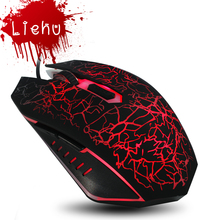 New 2400DPI 3 Buttons colorful LED Optical USB Wired Mouse Gamer Mice computer mouse Gaming Mouse For Pro Gamer