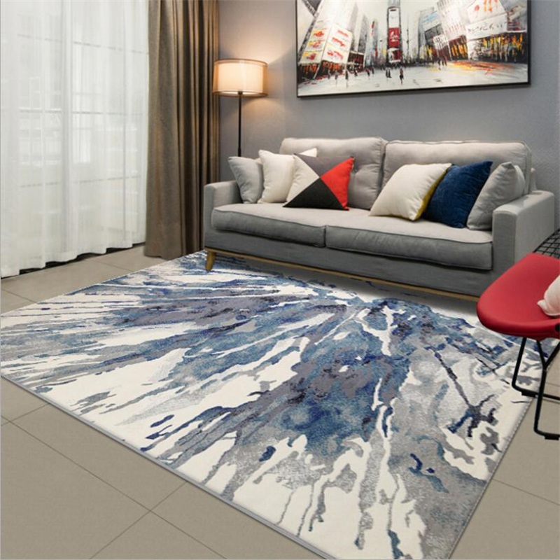 New Modern PP Material Soft Carpets For Living Room Bedroom Kid Room Rugs Home Carpet Floor Door Mat Nordic Style Hot Area Rug