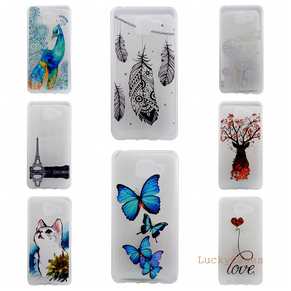 Pu leather case for samsung galaxy a7 2016 a710 peacock feather - Pu Leather Case For Samsung Galaxy A7 2016 A710 Peacock Feather For Samsung A310 A3