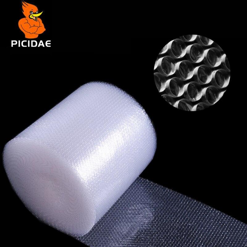 Film à bulles antichoc Film mousse sac papier emballage rouleau Double couche Fragile soulagement de la pression logistique Transport tampon remplissage