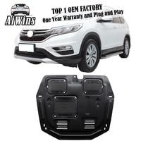 Car styling For Honda CRV plastic steel engine guard For Honda CRV 2011 2014 Engine skid plate fender 1pc