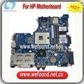 100% motherboard laptop trabalhando para hp 4321 s 4421 s série 599522-001 mainboard, sistema boardd, placa de sistema