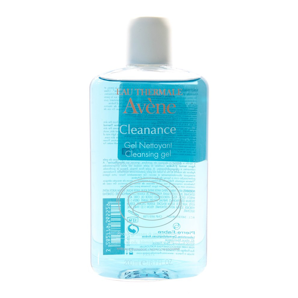 Face Washing Product AVENE C48327 Scraping tools mild cleansing wash gel tonic lotion scrub skin care avene lotion douceur