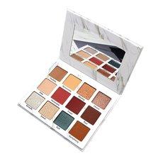 NOVO5214 Pretty Beauty Makeup Dish Marble Eyeshadow Palette Renaissance South Korean