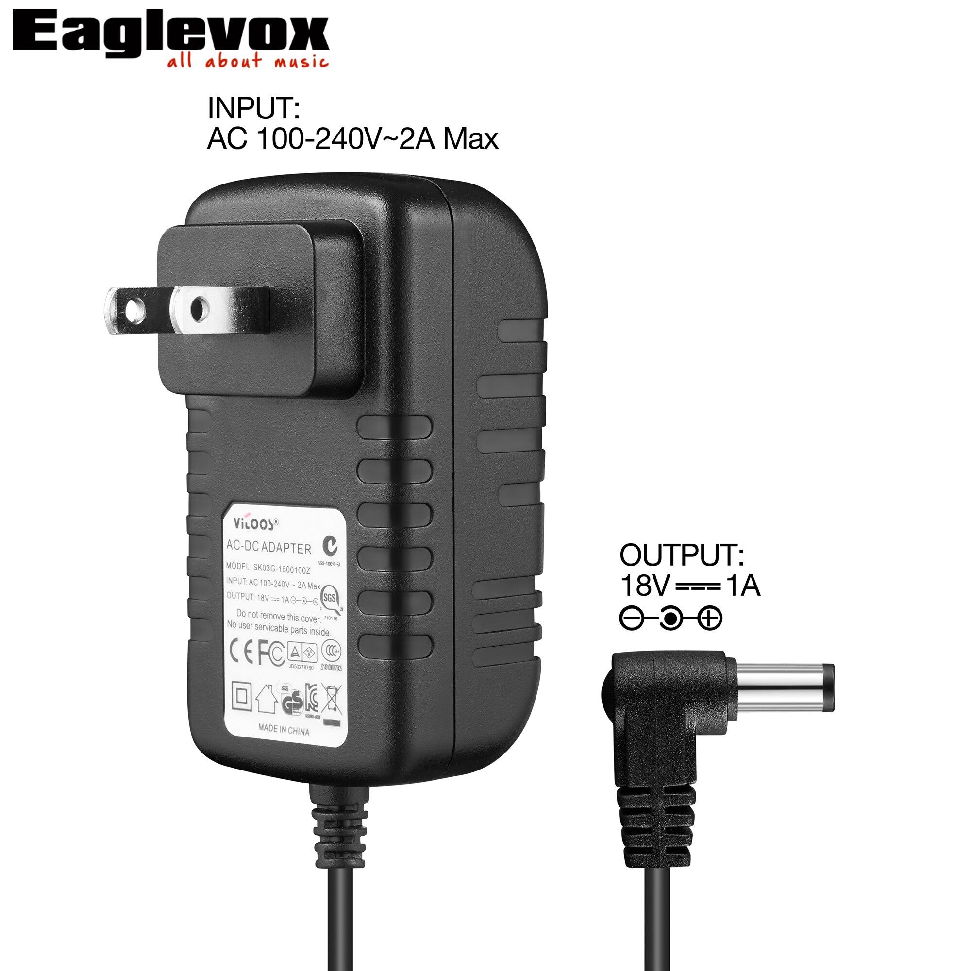 18v 1a power adapter negative center noiseless technology 100 240v converter for guitar effect. Black Bedroom Furniture Sets. Home Design Ideas