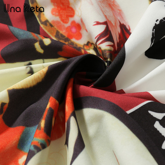 Una Reta Japanese style Printed Kimono Casual Cardigan Jackets Fashion Men 2018 New Mens Hip-hop Style Jacket Coats Streetwear  4