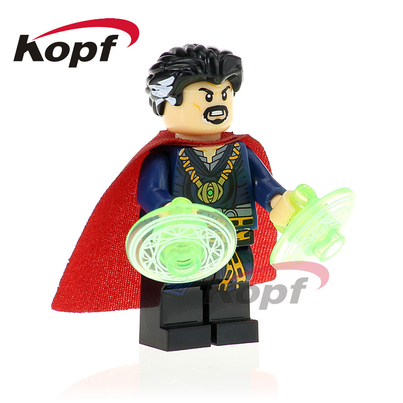 Building Blocks Single Sale Doctor Strange Thor Executioner Flash Super Heroes Model Action Bricks Children Gift Toys XH 825 single sale super heroes red skull mandarin thor grandmaster valkyrja bricks action building blocks children gift toys xh 709