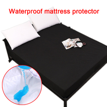 Mattress Cover 100% Waterproof Bed Sheet Anti Mites For Topper Smooth Bug Proof