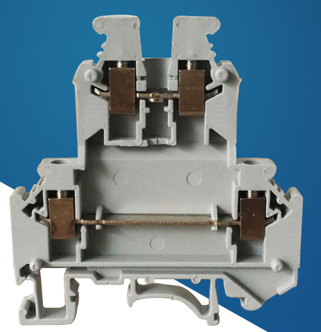 50pcs/lot Terminal blocks UKK3 DIN rail 2.5mm square voltage 500V 25A double terminal double lugs of flame retardant Connector reinz 81 90021 00 reinz уплотняющее кольцо коленчатый вал