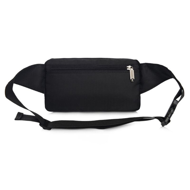 Running Sport Bum Bag Fanny Pack Waist Money Belt Zip Hiking Phone Pouch Wallet
