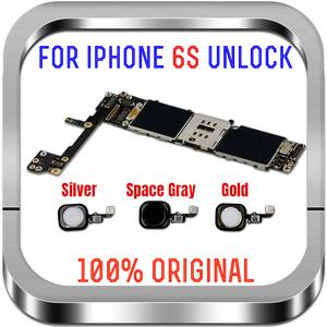 Image 3 - Полные чипы разблокированные 16 ГБ 32 ГБ 64 ГБ 128 ГБ для iphone 6S материнская плата без отпечатка пальца для iphone 6S материнская плата
